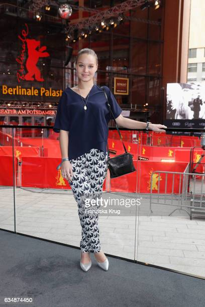 Sonja Gerhardt attends the Audi Berlinale Brunch during the 67th Berlinale International Film Festival on February 12 2017 in Berlin Germany