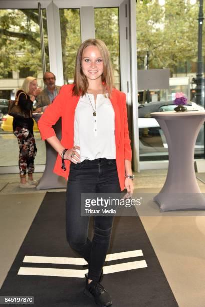 Sonja Gerhardt attends the Audi 'Deutscher Schauspielerpreis' WarmUpBrunch at Audi City Berlin on September 9 2017 in Berlin Germany