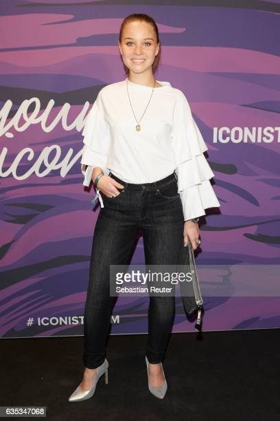 Sonja Gerhardt attends the Young ICONs Award in cooperation with HM and Tiffany's Co at BRLO Brwhouse on February 14 2017 in Berlin Germany