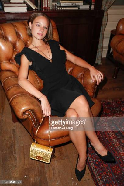 Sonja Gerhardt during the Furla Dinner and Party at Borchardt Restaurant on October 10 2018 in Berlin Germany