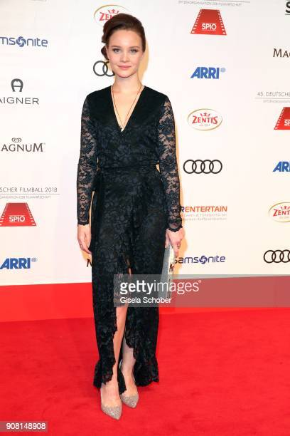 Sonja Gerhardt during the German Film Ball 2018 at Hotel Bayerischer Hof on January 20 2018 in Munich Germany