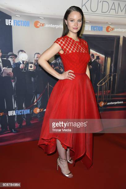 Sonja Gerhardt during the premiere of 'Ku'damm 59' at Cinema Paris on March 7 2018 in Berlin Germany