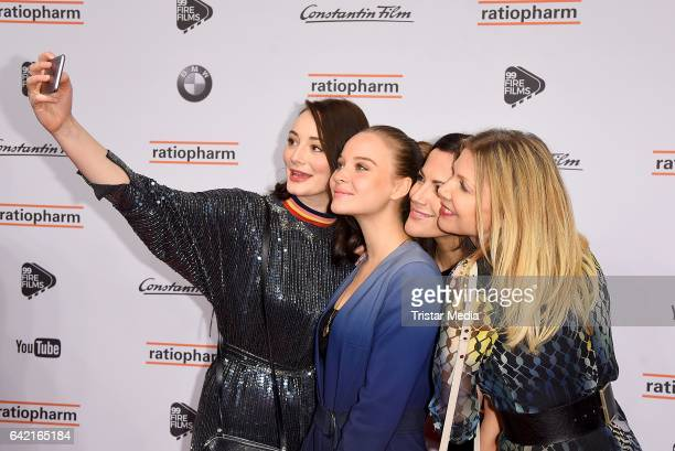 Sonja Gerhardt Maria Ehrich Bettina Zimmermann and Ursula Karven attend the 99FireFilmsAward at Admiralspalast on February 16 2017 in Berlin Germany