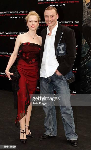 """Sonja Kerskes and Werner Daehne during """"Spider-Man 3"""" Berlin Premiere at Cinestar Cinema Berlin in Berlin, Berlin, Germany."""