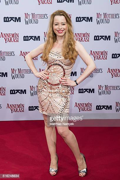 Sonja Kerskes attends the 'My Mothers Wound' Premiere at Zoo Palast on March 17 2016 in Berlin Germany