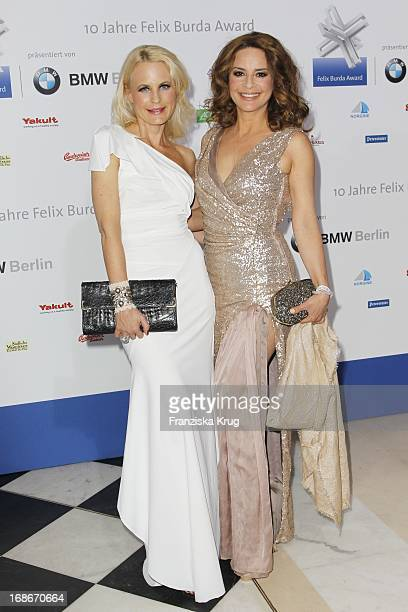 Sonja Kiefer And Gitta Saxx at the 10th Anniversary Of The Felix Burda Award at Hotel Adlon in Berlin