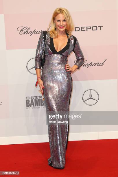 Sonja Kiefer arrives at Tribute To Bambi at Berlin Station on October 5 2017 in Berlin Germany