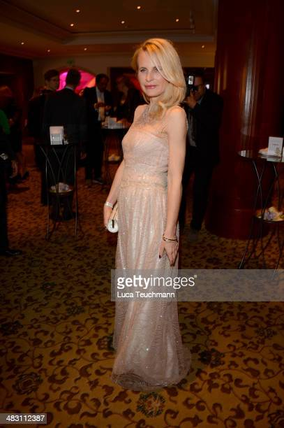 Sonja Kiefer attends Felix Burda Award 2014 at Hotel Adlon on April 6 2014 in Berlin Germany