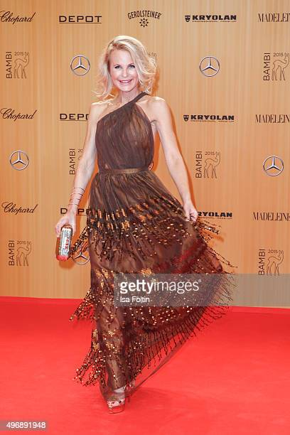 Sonja Kiefer attends the Bambi Awards 2015 at Stage Theater on November 12 2015 in Berlin Germany
