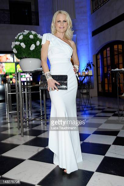 Sonja Kiefer attends the Felix Burda Award Gala 2012 at Hotel Adlon on April 22 2012 in Berlin Germany