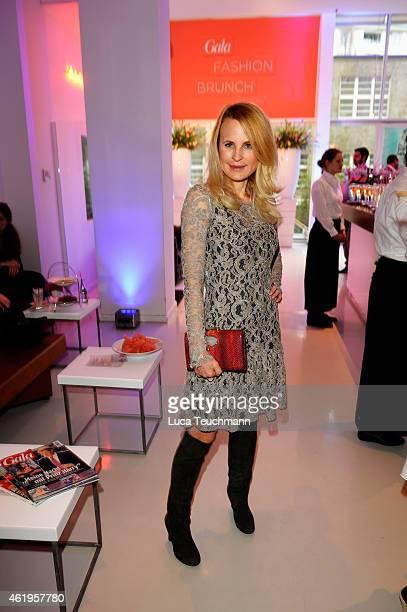 Sonja Kiefer attends the GALA Fashion Brunch at Ellington Hotel on January 22 2015 in Berlin Germany