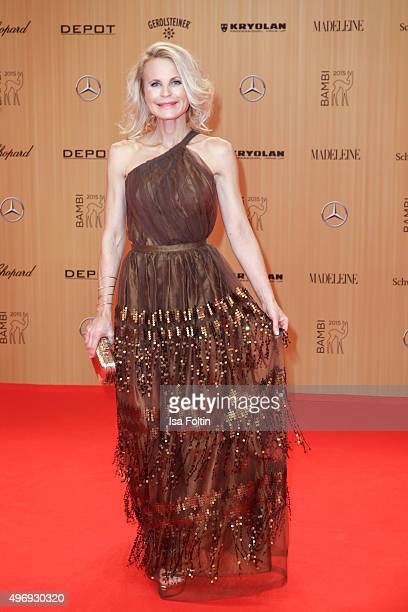 Sonja Kiefer attends the Kryolan At Bambi Awards 2015 Red Carpet Arrivals on November 12 2015 in Berlin Germany