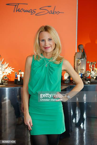 Sonja Kiefer attends the Thomas Sabo Press Cocktail event on January 20 2016 in Berlin Germany