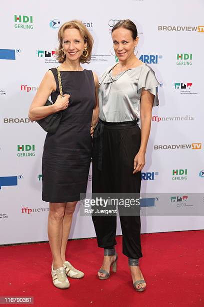 Sonja Kirchberger and Mareike Carriere attend the SemiFinal Judgings Of International Emmy Awards 2011 at the Marienburg on June 17 2011 in Cologne...
