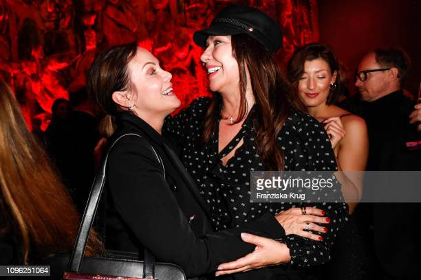 Sonja Kirchberger and Simone Thomalla during the BUNTE BMW Festival Night at Restaurant Gendarmerie on February 8 2019 in Berlin Germany