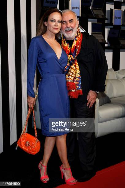 Sonja Kirchberger andUdo Walz arrive for the Michalsky Style Nite 2012 during Mercedes-Benz Fashion Week Berlin Spring/Summer 2013 at Tempodrom on...