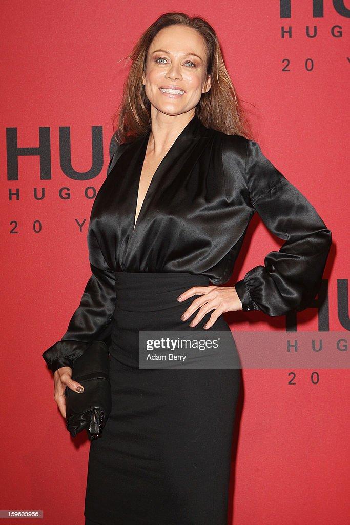 Hugo By Hugo Boss Arrivals - Mercedes-Benz Fashion Week Autumn/Winter 2013/14 : Nachrichtenfoto