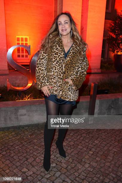Sonja Kirchberger attends the Berlin Opening Night by GALA UFA Fiction during 69th Berlinale International Film Festival at Hotel Das Stue on...