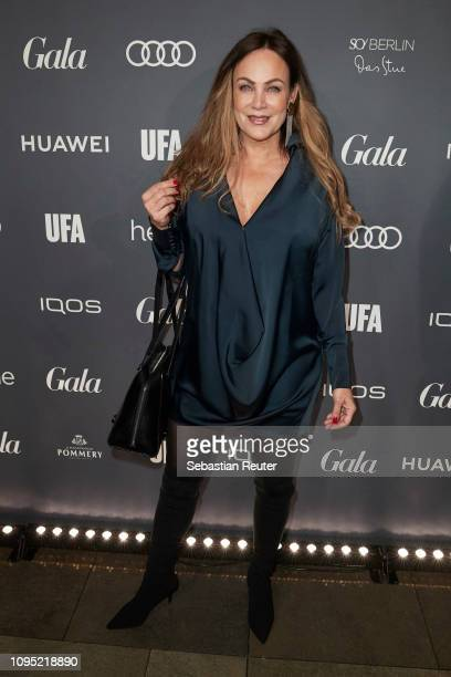 Sonja Kirchberger attends the Berlin Opening Night by GALA UFA Fiction at Das Stue on February 7 2019 in Berlin Germany