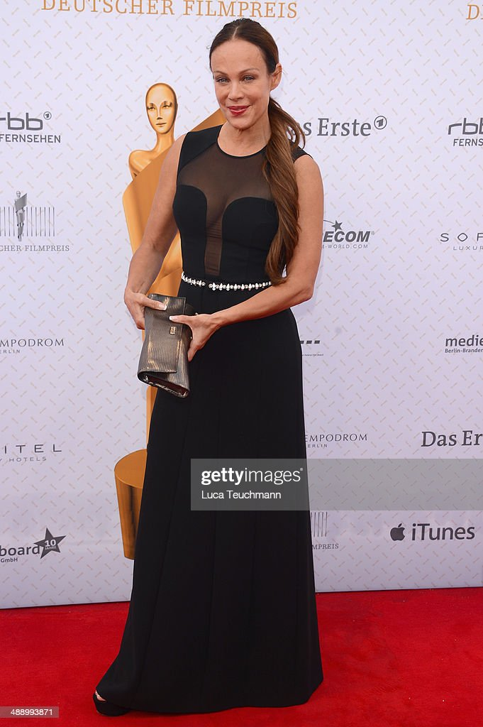 Sonja Kirchberger attends the Lola - German Film Award 2014 at Tempodrom on May 9, 2014 in Berlin, Germany