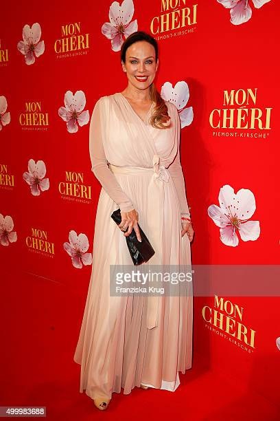 Sonja Kirchberger attends the Mon Cheri Barbara Tag 2015 at Postpalast on December 4 2015 in Munich Germany
