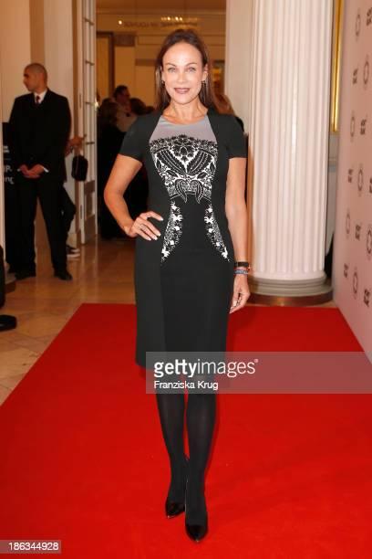 Sonja Kirchberger attends the Prix Montblanc 2013 at Konzerthaus Am Gendarmenmarkt on October 30, 2013 in Berlin, Germany.