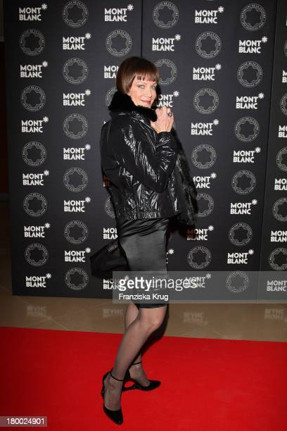 """Sonja Kirchberger Bei Der Montblanc Kulturstiftung Party Im """"The Charles Hotel"""" In München ."""