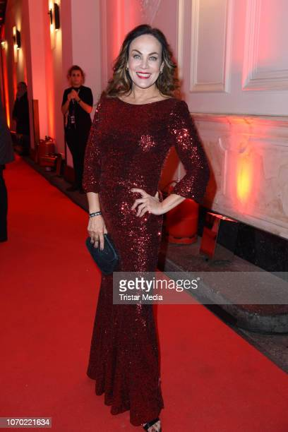 Sonja Kirchberger during the after show party of the 'Ein Herz Fuer Kinder Gala 2018' on December 8 2018 in Berlin Germany