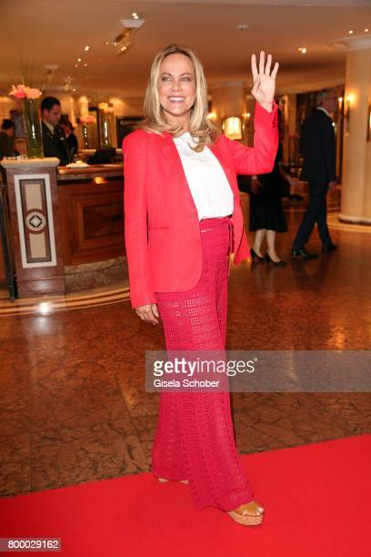 Sonja Kirchberger during the opening night party of the Munich Film Festival 2017 at Hotel Bayerischer Hof on June 22 2017 in Munich Germany