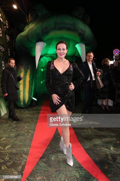 Sonja Kirchberger during the Place To B Berlinale Party Garden of Eden at Borchardt Restaurant on February 22 2020 in Berlin Germany