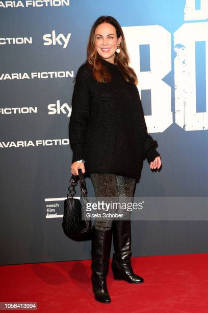 Sonja Kirchberger during the world premiere of the Sky original series 'Das Boot' at Bavaria Studios on November 6 2018 in Munich Germany