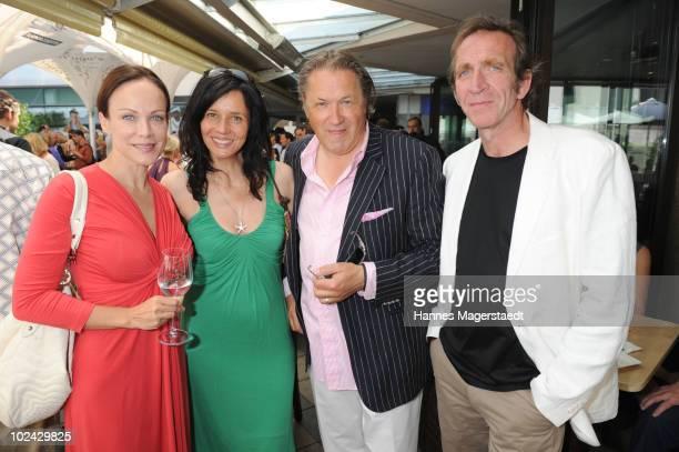 Sonja Kirchberger, Karin Brandner, Michael Brandner and Jochen Nickel attend the Agencies Cocktail during the Munich Film Festival on June 26, 2010...