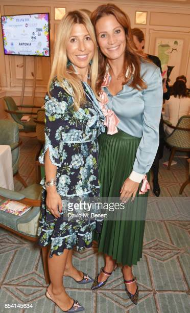 Sonja Koenig and Julia Baumhoff attend the 4th annual Ladies' Lunch in support of the Silent No More Gynaecological Cancer Fund at Fortnum Mason on...