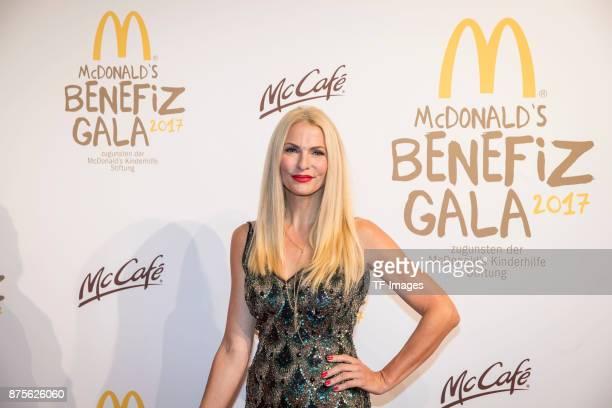 Sonja Kraus attends the McDonald's charity gala at Hotel Bayerischer Hof on November 10 2017 in Munich Germany