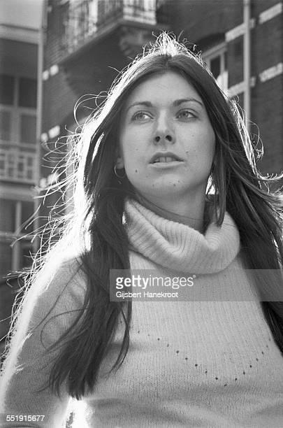 Sonja Kristina of Curved Air portrait Amsterdam Netherlands 1971