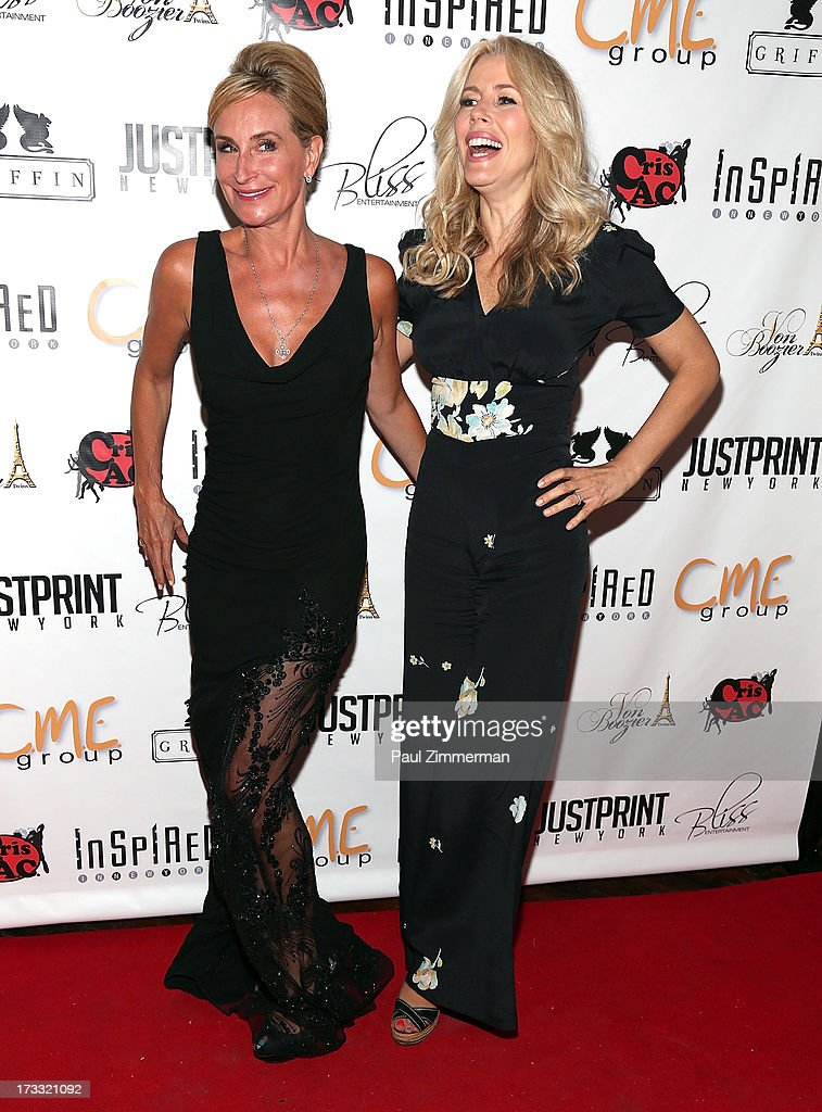 Sonja Morgan and Aviva Drescher attend 'Inspired In New York' event on July 11, 2013 in New York, United States.