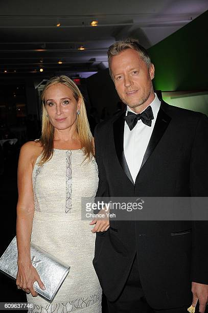 Sonja Morgan and David Svanda attend the 2nd annual Magic Bus Gala at Three Sixty on September 21 2016 in New York City