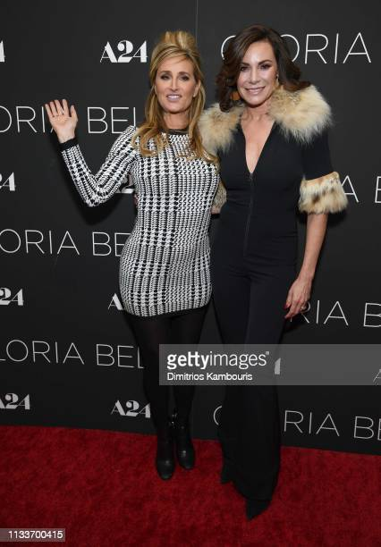 Sonja Morgan and Luann de Lesseps attend Gloria Bell New York Screening at Museum of Modern Art on March 04 2019 in New York City