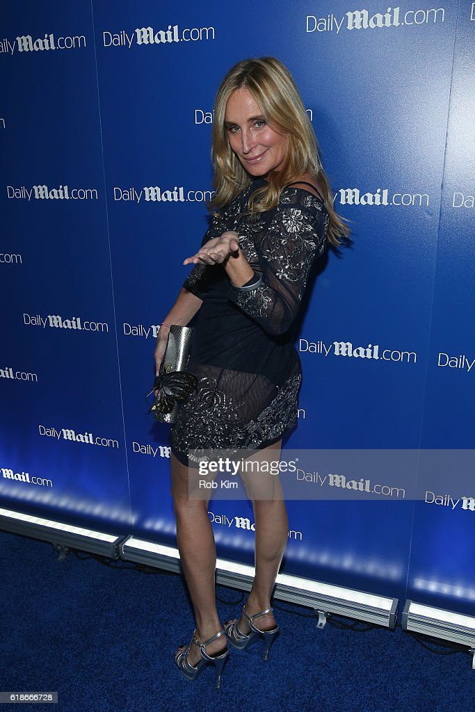 Sonja Morgan attends the DailyMail.com's Seriously Scary Halloween Party With Kesha on October 27, 2016 in New York City.