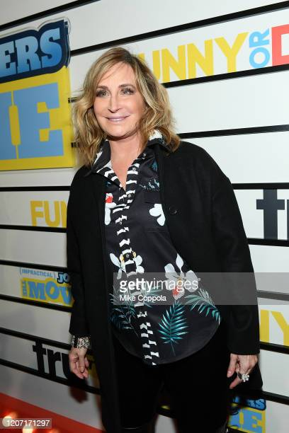 Sonja Morgan attends the Impractical Jokers The Movie Premiere Screening and Party on February 18 2020 in New York City 739100