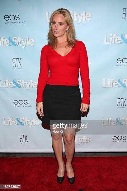 Sonja Morgan attends the Life Style Holiday party hosted by Real Housewives' Countess LuAnn De Lesseps at STK Midtown 13 2011 in New York City
