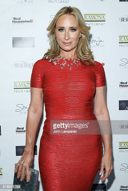 Sonja Morgan attends The Real Housewives of New York City season 8 premiere party at Beautique on March 29 2016 in New York City