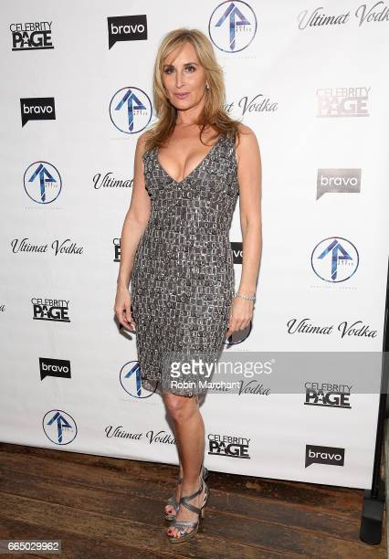 Sonja Morgan attends 'The Real Housewives Of New York City' Season 9 Premiere Party at The Attic Rooftop Lounge on April 5 2017 in New York City