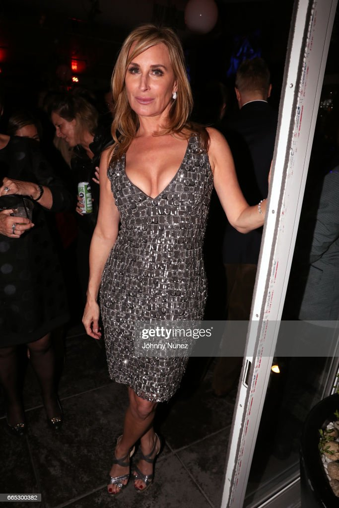 Sonja Morgan attends 'The Real Housewives Of New York City' Season 9 Premiere Party at The Attic Rooftop Lounge on April 5, 2017 in New York City.