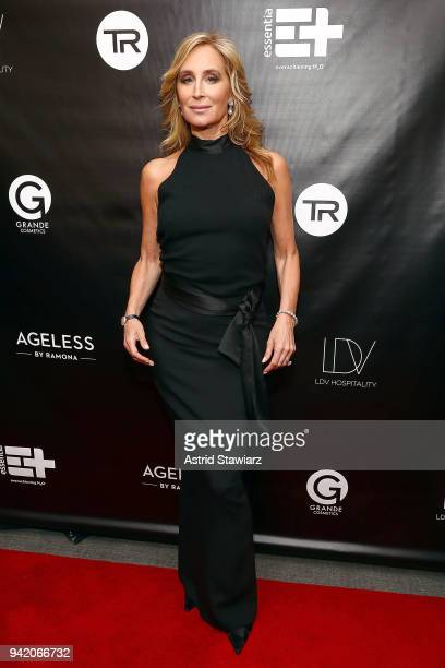 Sonja Morgan attends The Real Housewives of New York Season 10 premiere celebration at LDV Hospitality's The Seville produced by Talent Resources on...