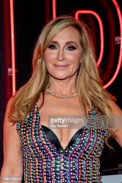 Sonja Morgan attends the Susanne Bartsch and David Barton's Toy Drive at TMPL West Village at TMPL West Village on December 14 2018 in New York City