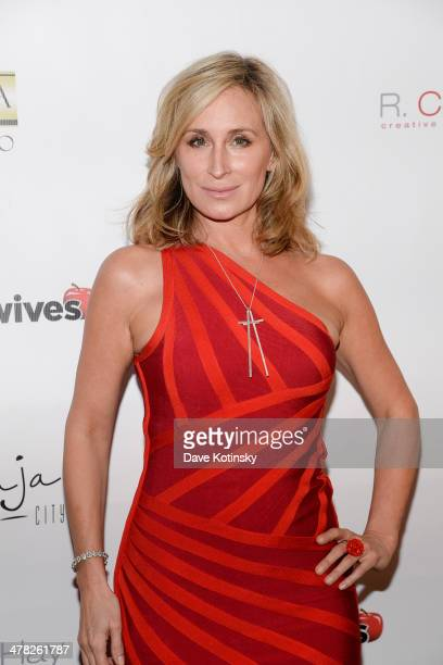 Sonja Morgan attends the 'The Real Housewives Of New York City' season six premiere party on March 12 2014 in New York United States