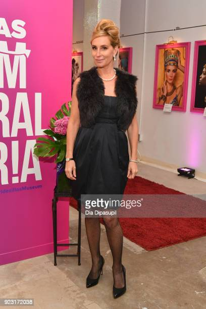 Sonja Morgan attends WE tv Launches Bridezillas Museum Of Natural Hysteria on February 22 2018 in New York City