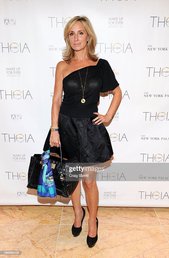 Sonja Morgan atttends the Theia Presentation - Mercedes-Benz Fashion Week Spring 2014 at NY Palace at the Apartment on September 11, 2013 in New York City.