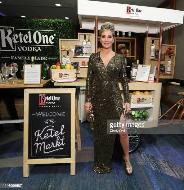 Sonja Morgan enjoys a Ketel One cocktail at 30th Annual GLAAD Media Awards in partnership with Ketel One FamilyMade Vodka longstanding ally of the...